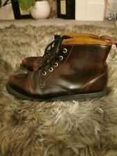 Dr Martens Men's Boots Emmeline Burghandy Red Size UK 7 41