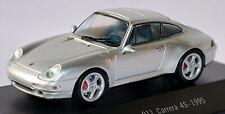 Porsche 911 Carrera 4S Coupe 1995 Typ: 993 silber silver metallic 1:43 Norev