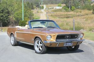 1968 Ford Mustang Convertible BGS Classic Cars Holden Chevrolet Pontiac V8