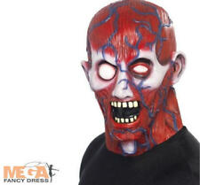 SALE Anatomy Man Mask Halloween Horror Fancy Dress Mens Costume Adult Accessory