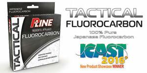 P-LINE Tactical 100% Fluorocarbon Fishing Line 17lb (200yd) #PTFL200-17