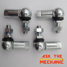 4 x 10mm Ball & Socket Joint M6 Right Hand Thread Linkage - H4