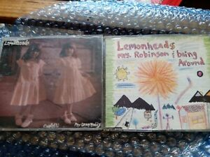 Lemonheads CD singles Mrs. Robinson & Being Around, and Confetti & My Drug Buddy