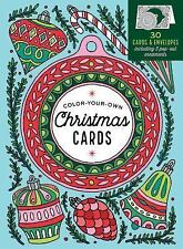 Color-Your-Own Christmas Cards : 30 Cards and Envelopes by Caitlin Keegan...