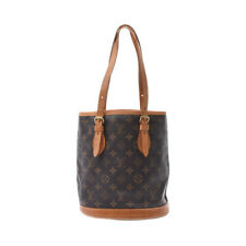 LOUIS VUITTON Monogram Bucket PM with pouch Brown M42238 805000933030000
