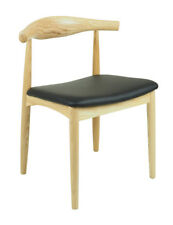 Natural Timber Modern Dining Chairs Danish Classic Mid-Century Design  2x pcs