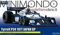 KIT TYRRELL FORD P34 1977 JAPAN GP 1/20 FUJIMI GP17 09205 092058