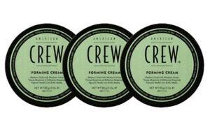 ( 12,51€ / 100g ) 3 x American Crew Forming Cream je 85g