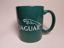 JAGUAR AUTOMOBILES SPORTS CARS COFFEE CUP IN BRITISH RACING GREEN