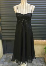 Robe Noire À Bretelles *Primark* Taille 38 - Neuve Avec Étiquette