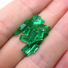 Old Stock LAST Set of 6.09ct Real Loose Emerald Gemstone / 25 pieces