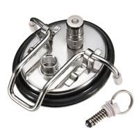 Home Brew Cornelius Style Carbonation lid Stainless Steel Ball Lock KEG LID