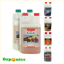 CANNA COCO HYDROPONICS NUTRIENTS A & B PLUS ADDITIVES 1 LTR PACKAGE