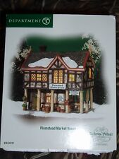 DEPT 56 DICKENS' VILLAGE PLUMSTEAD MARKET HOUSE NIB *Still Sealed*