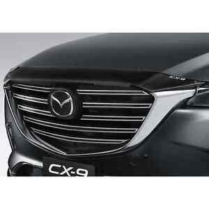 New Genuine Mazda TC CX-9 Bonnet Protector Smoked CX9 TC11ACBPS