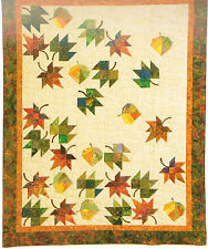 Falling Leaves Quilts Patchwork Place Times & Season Designs Quilt Pattern Book