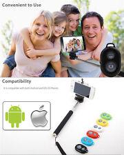 Monopod selfie stick telescopic Bluetooth wireless remote mobile phone holder UK