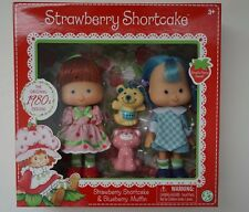 NEW SEALED 2 Pack 1980's CLASSIC STRAWBERRY SHORTCAKE & BLUEBERRY MUFFIN