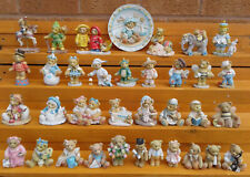 More details for cherished teddies - selection of figurines.