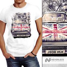 Herren T-Shirt Union Jack United Kingdom Car Flagge Flag England Neverless®