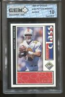 1998 Peyton Manning UD Choice #193 RC Rookie Gem Mint 10 Colts Broncos