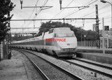 PHOTO  FRENCH TRAIN - TGV