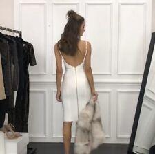 Misha Collection White Bodycon Bandage Dress Size AU6/US2/UK6/EU34