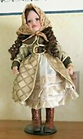 Ellis Island Porcelain Doll SPEC. EDITION/HAND PAINTED-REBECCA-EXCL. JUDAICA