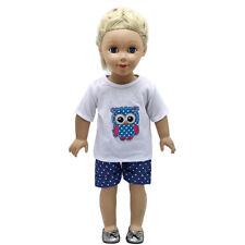 "Hot~ Fits 18""  inch Doll 43cm Baby Dolls Handmade fashion Doll Clothes dress"