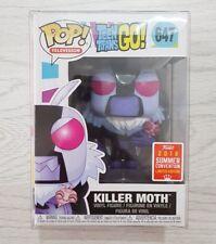 Teen Titans Go, Killer Moth Funko Pop! Vinyl **SDCC 2018 Exclusive** U.K Seller!