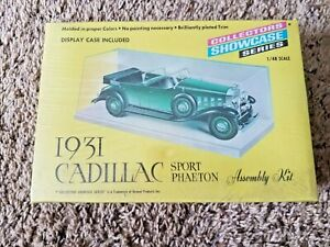 1966 Renwal 1931 Cadillac Sport Phaeton Model Kit  New