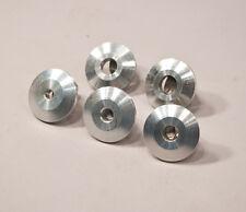 """3/8"""" Raw Machined Aluminum Backup Stringer Washer - Lot of 25 washers"""