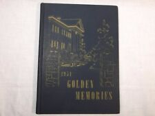 1951 WASHINGTON MISSIONARY COLLEGE D.C GOLDEN MEMORIES YEAR BOOK