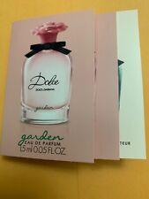 2X DOLCE & GABBANA Dolce Garden  + Dolce Eau De Parfum Sample 0.05 oz 15 mL