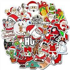 50Pcs/Lot Merry Christmas Stickers Graffiti Laptop Sticker Luggage Car Decals