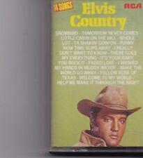 Elvis Presley-Country Music Cassette
