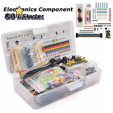 Electronics Component Basic Starter Kit With830 Tie Points Breadboard Power Supply