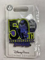 NEW Disney DLR - Cast Exclusive - The Haunted Mansion 50th Anniversary Pin RARE!