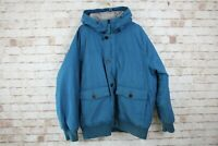 Timberland HyVent Blue Down Jacket Size XL