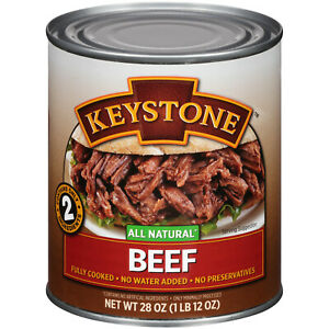 Keystone All Natural Canned Beef - 28 oz can