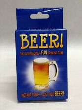 Beer The Outrageously Fun Drinking Game Trivia Dare Adult Party Deck 52 Cards