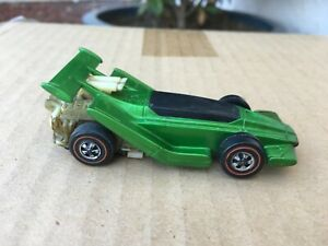 1970 Hot Wheels Redline Flat Out Sizzlers Green Mexico