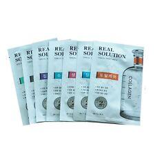 7pc MISSHA Real Solution Tencel Sheet Mask Anti Wrinkle Moisturizing Brightening