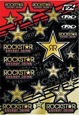 FX Factory Effex Rockstar Energy Motocross Dirt Bike Pitbike Moto Sticker Sheet
