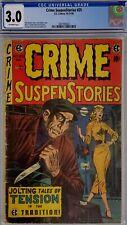 CRIME SUSPENSTORIES #25 CGC 3.0 EC GOLDEN AGE HORROR COMIC