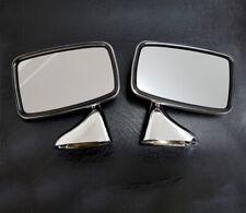 MG Midget/ Austin Sprite Tex Style Chrome Wing Mirror Set (GAM215R/GAM216R)