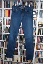 J BRAND WOMENS MID BLUE 'CIGARETTE LEG' JEANS SIZE SIZE 29 (UK 10)