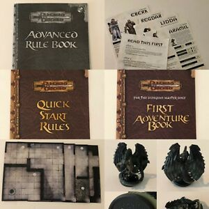 Dungeons and Dragons Basic Board Game 2004 Replacement Parts Pieces Miniatures