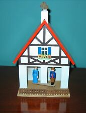 Erzgebirge GERMAN  WEATHER HOUSE A Frame ALL WOOD Exc.!