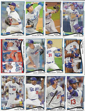 LOS ANGELES DODGERS Complete 2014 Topps MINI 26 Card Team Set ONLINE EXCLUSIVE